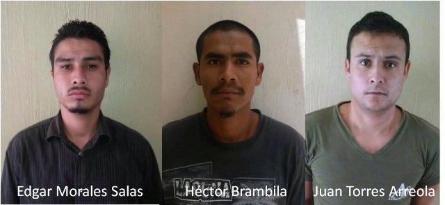 ¡Arrestan a 3 sujetos implicados en el asesinato de un septuagenario en Tecolotlán!