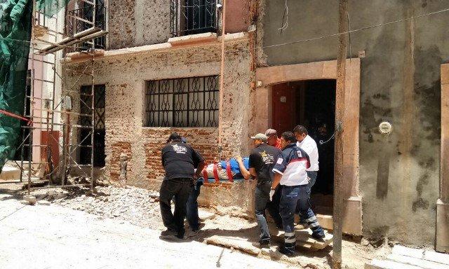 ¡Trabajador se electrocutó en Zacatecas y milagrosamente logró sobrevivir!