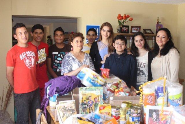 ¡Entrega con responsabilidad social Maleny Ortiz apoyo a la Casa Hogar Amor y Esperanza A.C.!