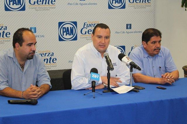 ¡Juicio político contra el gobernador de Aguascalientes exige el PAN!
