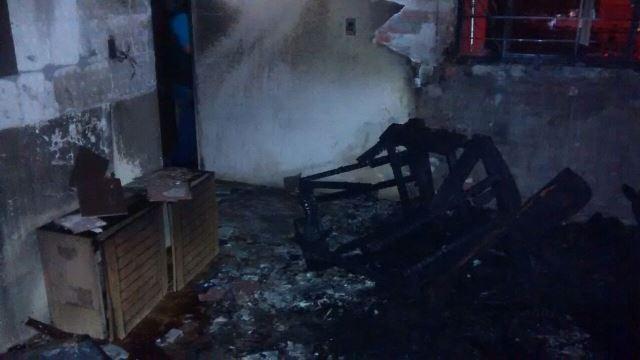 """¡Vicioso incendió un """"picadero"""" en un departamento de Pilar Blanco en Aguascalientes!"""
