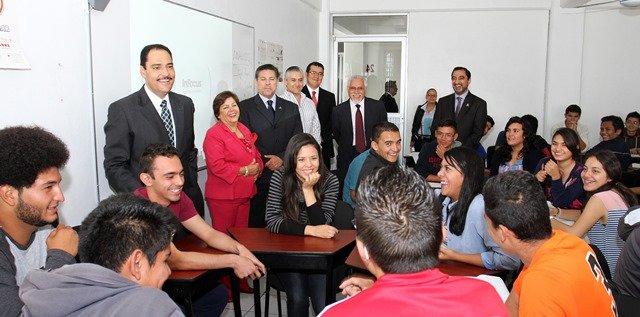 ¡Inauguró el alcalde Juan Antonio Martín del Campo jornadas ambientales en el Instituto Tecnológico de Aguascalientes!