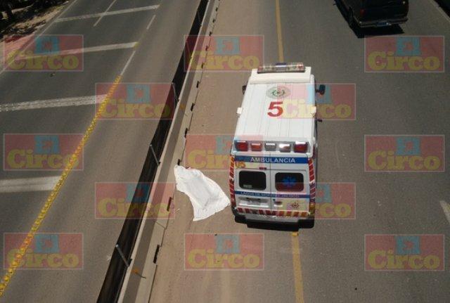 ¡Murió ciclista embestido por veloz automóvil en Lagos de Moreno!