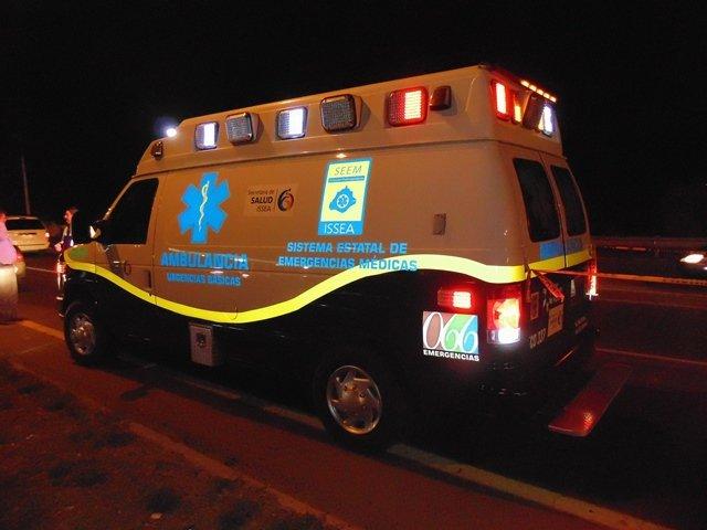 """¡Destrozado por un auto """"fantasma"""" murió un desconocido en Aguascalientes!"""