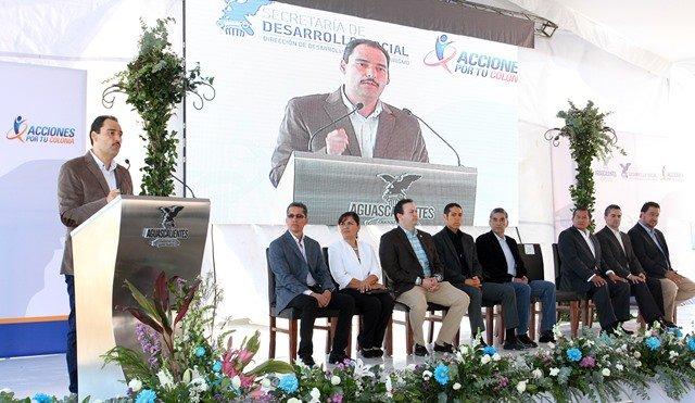 ¡Entrega el alcalde Juan Antonio Martín del Campo el primer Parque Industrial para PYMES de la región centro del país!