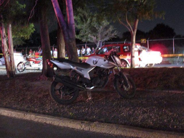 ¡Adolescente se mató tras un accidente de motocicleta en Aguascalientes!