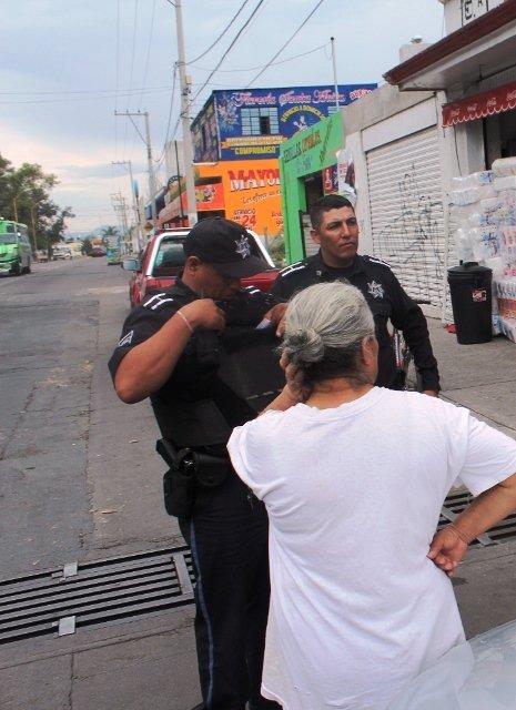 ¡Policías municipales frustraron otra extorsión telefónica en Aguascalientes!