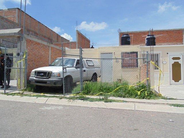 ¡No fue ejecución: un joven se suicidó en el patio de una casa en Aguascalientes!