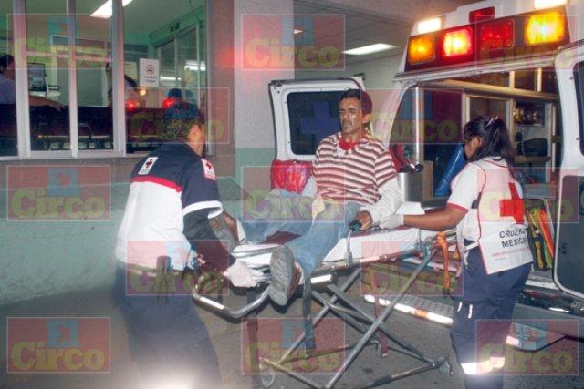 ¡Por celos, mujer apuñaló e hirió gravemente a un sujeto en Lagos de Moreno!
