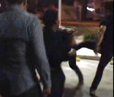 Video segunda parte de la golpiza a Luis Mariscal en manos de los jugadores del Necaxa