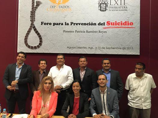 ¡Organiza el diputado de MC Oswaldo Rodríguez García Foro para la Prevención del Suicidio!
