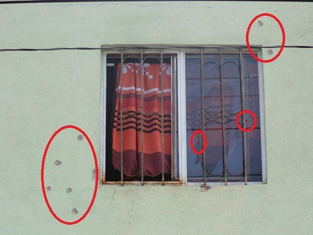 ¡2 pistoleros balearon un domicilio en Aguascalientes y escaparon impunemente!