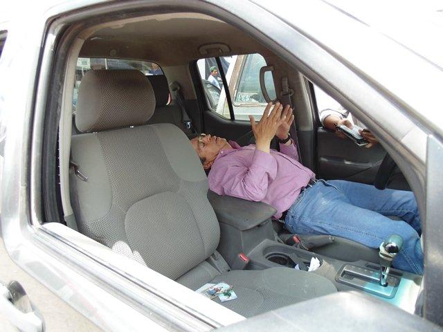 ¡2 lesionados dejó fuerte carambola entre 3 vehículos en Aguascalientes!