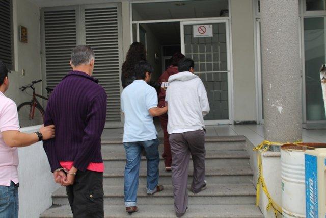 ¡Trasladaron al CERESO a los 3 secuestradores de un niño en Aguascalientes!