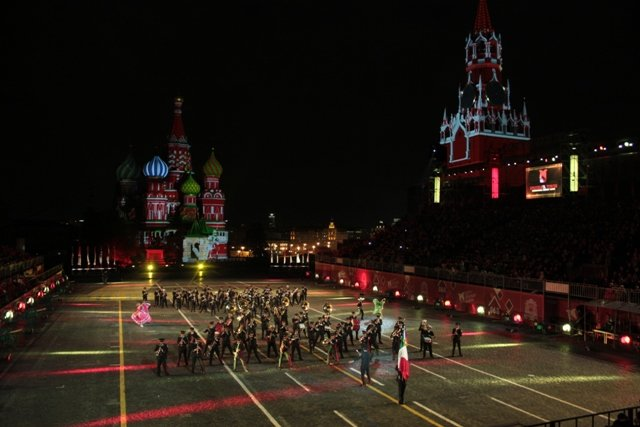 ¡Terminó la participación de México en el Festival Internacional de Música Militar!