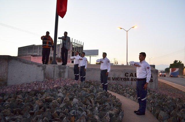 ¡Conmemoraron el Día Nacional de Protección Civil en Calera!