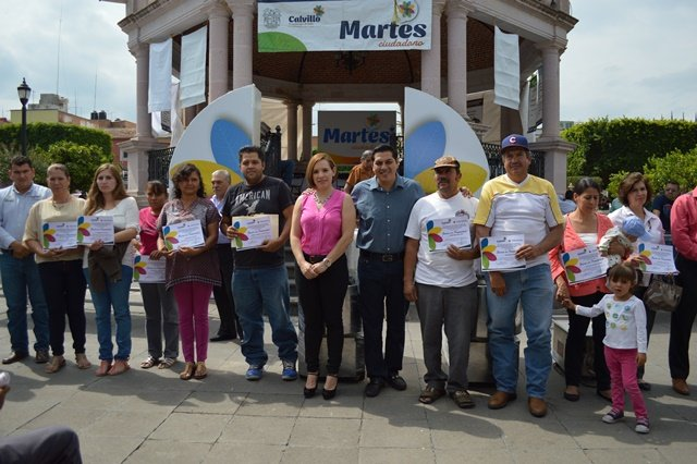 ¡Apoyos para el fortalecimiento de negocios locales en el Martes Ciudadano de Calvillo!