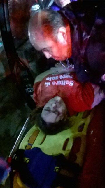 ¡Ebria mujer estuvo a punto de matarse en un accidente en Aguascalientes!