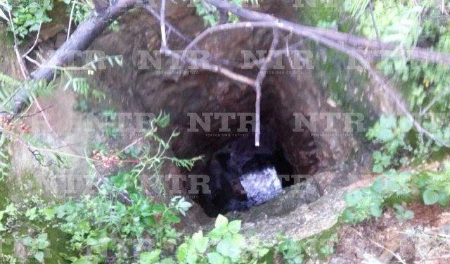 ¡Hallaron a una mujer muerta en un tiro de mina en Guadalupe, Zacatecas!