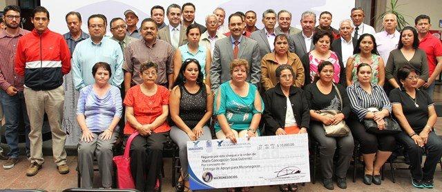 ¡Gobierno Municipal refrenda impulso a microempresarios locales!