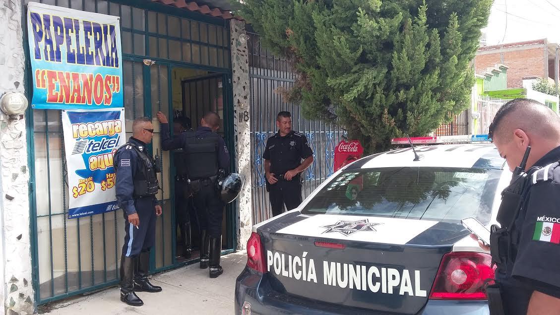 ¡Policías municipales frustraron una extorsión telefónica en Aguascalientes!