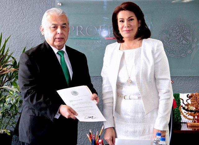 ¡Presentan a Carlos de Jesús Ponce Beltrán como subprocurador de Telecomunicaciones de PROFECO!