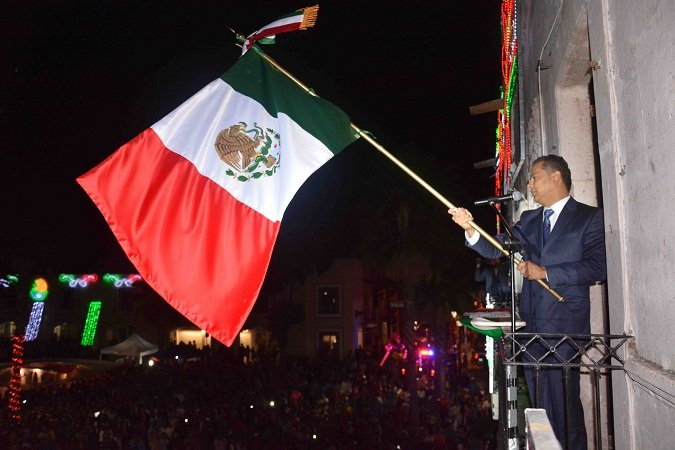 ¡Encabezó Antonio Arámbula la celebración del Grito de Independencia en Jesús María!