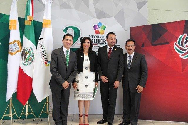 ¡FOTOGALERIA/ El presidente municipal de Calera, Ivanhoé Escobar, rindió su segundo informe de gobierno!