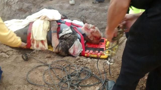 ¡Adulto mayor se salvó de morir tras caer a una zanja en Aguascalientes!