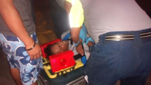 """¡Auto """"fantasma"""" arrolló a un ciclista y lo dejó gravemente lesionado en Aguascalientes!"""