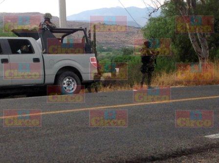¡Sujetos en camionetas sospechosas provocaron espectacular operativo en Lagos de Moreno!