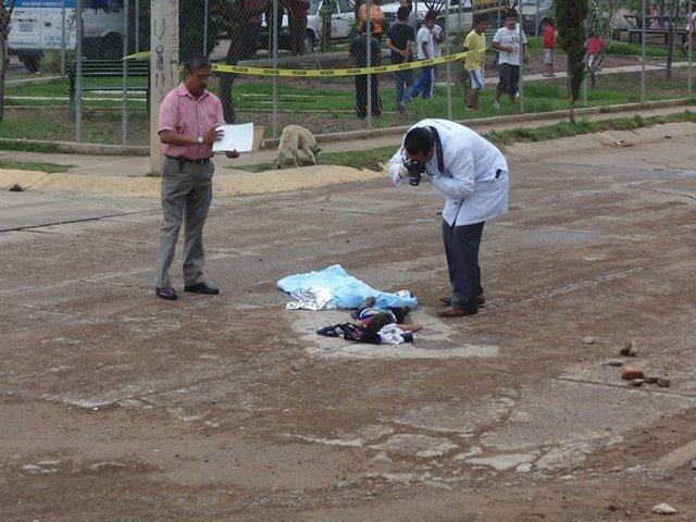 ¡Niño de 2 años de edad murió atropellado por una camioneta en Aguascalientes!