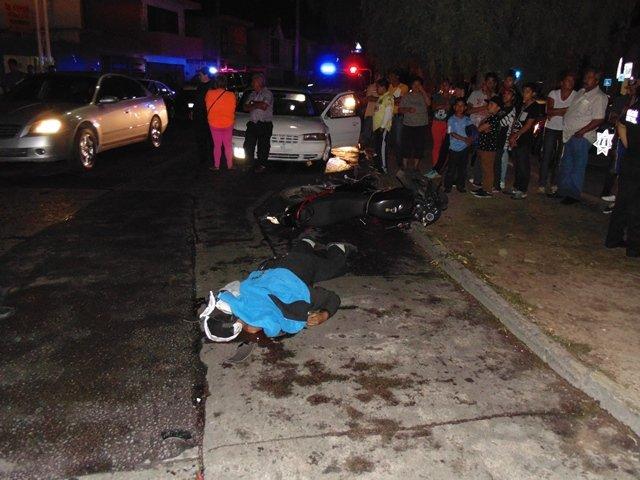¡Joven motociclista se mató tras un accidente en Aguascalientes!