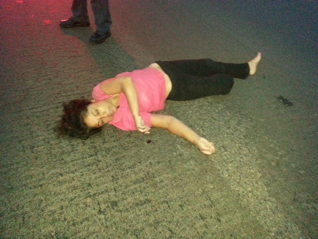 ¡Murió mujer atropellada por un automóvil en Aguascalientes!