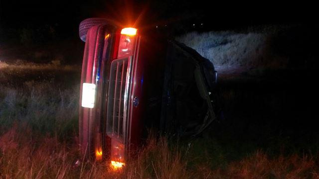 ¡1 muerta y 5 lesionados tras la volcadura de una camioneta en Aguascalientes!