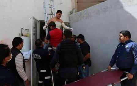 ¡Joven se salvó de morir electrocutado en Zacatecas!