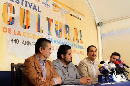 ¡Gobierno Municipal ofrece diversidad artística en el Festival Cultural de la Ciudad 2015!