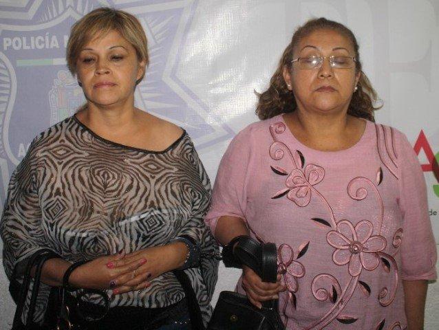¡Sentenciaron a 8 años de prisión a 2 mujeres ladronas en Aguascalientes!