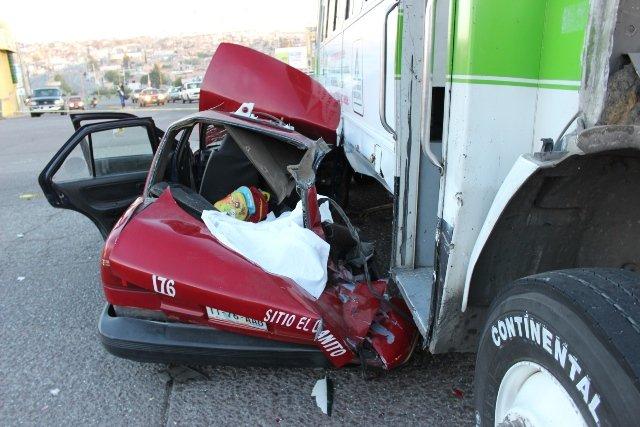 ¡5 años de prisión a taxista que provocó accidente donde murieron 2 niñas en Aguascalientes!