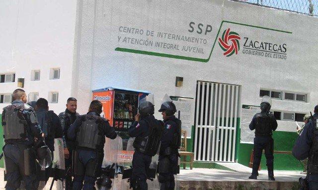 ¡Otra riña en el Centro de Internamiento y Atención Integral Juvenil de Zacatecas!