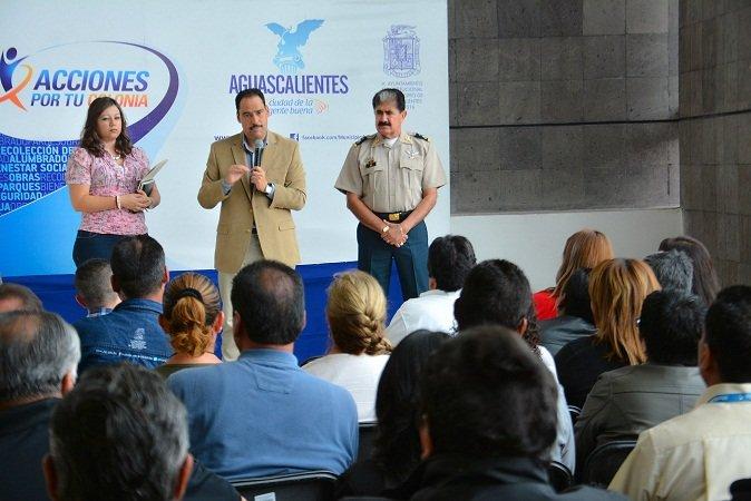 ¡Promete JAMC mejores prestaciones laborales para elementos de la Policía Municipal!