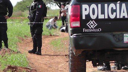 ¡Ejecutaron a balazos a un hombre cerca de una mina en Fresnillo!