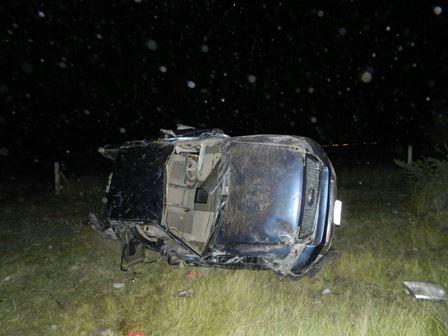 ¡3 muertos y 2 lesionados tras la volcadura de una camioneta en Aguascalientes!