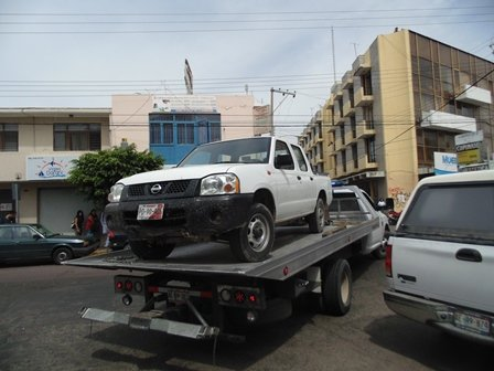 ¡Aseguran otra camioneta de los sicarios que se balearon con policías en Aguascalientes!