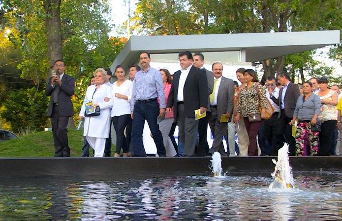¡Reinaugura el MunicipioAgs el corredor cultural de la Alameda!