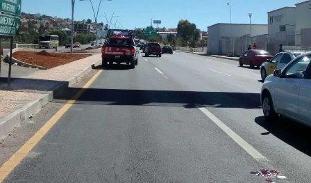 ¡Sexagenario murió atropellado por una camioneta en Zacatecas por no utilizar un puente peatonal!