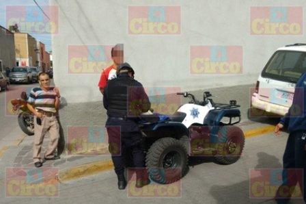 ¡Capturaron a 3 integrantes de una banda de roba-motocicletas en Lagos de Moreno!