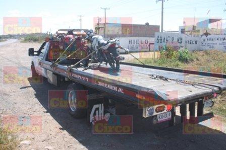 ¡FOTOGALERIA/ Capturaron a 3 integrantes de una banda de roba-motocicletas en Lagos de Moreno!