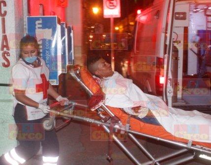 ¡Joven casi muere degollado en Lagos de Moreno!
