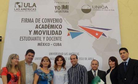 ¡La Universidad Las Américas y la Universidad de Ciego de Ávila ÚNICA de Cuba, suscribieron el convenio de cooperación académica!